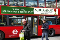 British Muslims Spread Universal Message of Peace with Bus Campaign