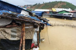 Flame Fades for Rohingya Muslim Families amid Monsoons in Bangladesh