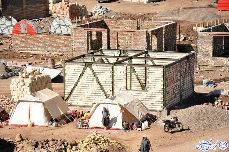 بازسازی واحدهای مسکونی مناطق زلزلهزده مردم محور است